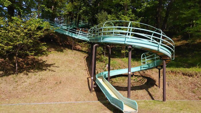 益子町 南運動公園 すべり台